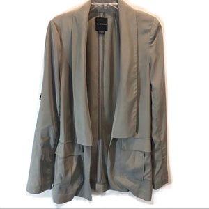 Marciano Olive/Khaki Blazer w/ Tabbed Sleeves Med